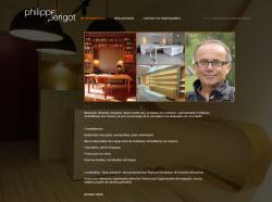 Philippe PERIGOT - Menuisier, ébéniste, designer - 31290 Villefranche de Lauragais - www.philippe-perigot.com