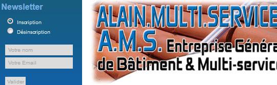 Alain Multi Services - Entrise générale du batiment et multi-services - 31550 CINTEGABELLE - www.alainmultiservices.fr