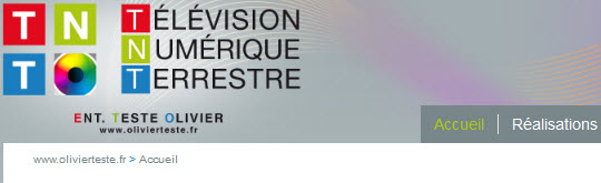 Olivier TESTE - Télévision Numérique Terreste - 09330 MONTGAILHARD - www.olivierteste.fr