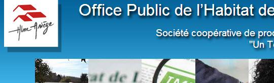 Office Public de l'Habitat de l'Ariège, OPH HLM ARIEGE - 09000 FOIX - www.hlmariege.fr