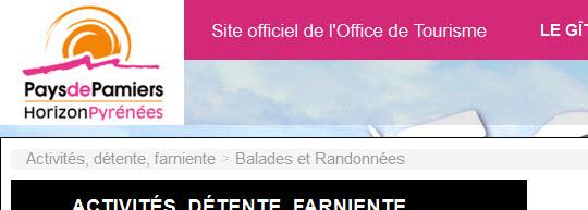 Pr sentation des sites web pro syscasi de l 39 agence web situ e en ari ge midi pyr n es - Office de tourisme de foix ...