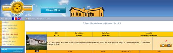 Agence Immobilière Immo Lion d'Or - www.immoliondor.com