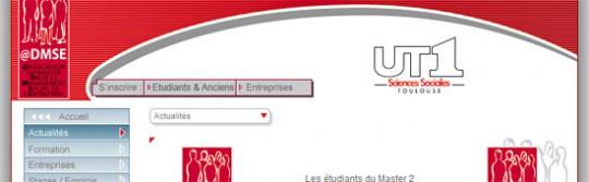 ADMSE Association des étudiants du Master 2 Droit et Management Social de l'Entreprise (Toulouse - Haute-garonne - 31) - www.mdmse.com
