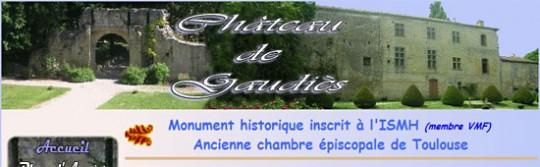 Chateau de Gaudiès (Gaudiès - Ariège-Pyrénées - 09) - www.chateaudegaudies.com