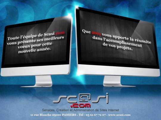 Meilleurs Voeux 2011 - Scasi.com