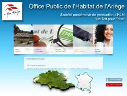 Office Public de l'Habitat de l'Ariège, OPAC - 09000 FOIX - www.hlmariege.fr