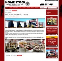 Home Stock -  MEUBLES, SALONS, LITERIE - Les Prix, le Conseil, les Services  - www.home-stock.fr