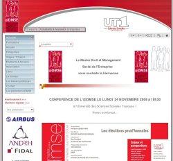AMDMSE Association des Étudiants et Ancien du Master 2 Droit et Management Social de l'Entreprise - 31000 TOULOUSE - 31 HAUTE-GARONNE - www.mdmse.com