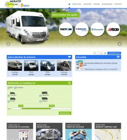 MURATET Camping-Cars - Vente et location de camping-cars - 09 PAMIERS - www.campingcars-ariege.com