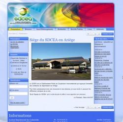 Syndicat Départemental des Collectivités Électrifiées de l'Ariège SDCEA 09 Ariège Pyrénées - www.sdcea.fr