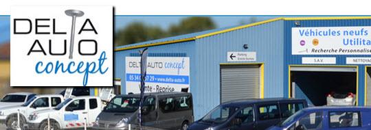 Delta Auto Concept - Vente de voitures neuves et occasions - 09100 VARILHES - www.delta-auto.fr