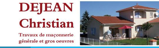 Maçonnerie DEJEAN Christian - Travaux de maçonnerie générale et gros oeuvre de bâtiment  - 09100 PAMIERS - www.maconnerie-dejean.fr