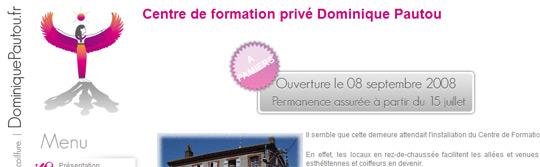 Centre de formation Esthétique & Coiffure Dominique PAUTOU - 09100 PAMIERS - 09 ARIEGE-PYRENEES - www.dominiquepautou.fr