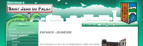 Mairie de Saint-Jean du FALGA 09 www.ville-saintjeandufalga.fr (Packs PRO SYScasi)
